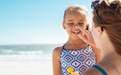 How to Properly Apply Sunscreen on Your Children and Stay Safe Playing In the Sun…